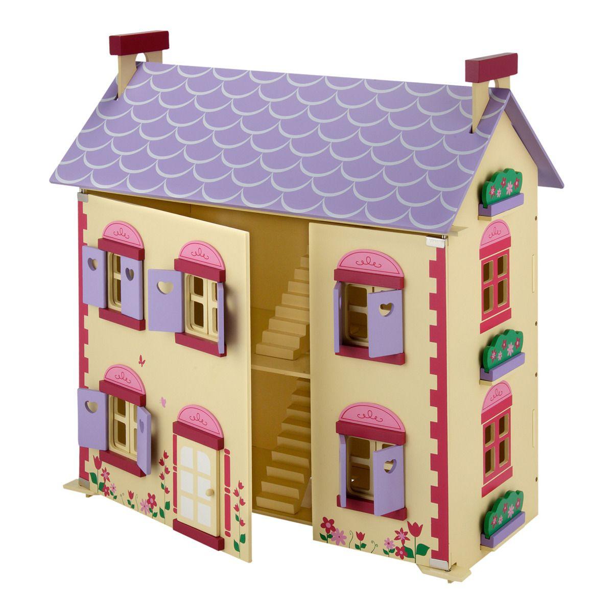 Mi alegre casita Miyo | Casa de madera, Madera y Muñecas
