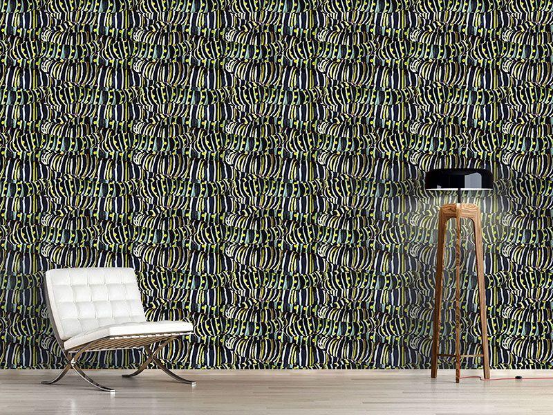 Design #Tapete Raupen Nimmersatt