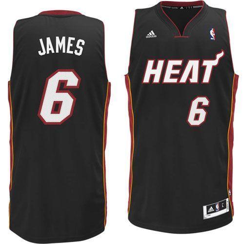 Black Jersey   Lebron james miami heat