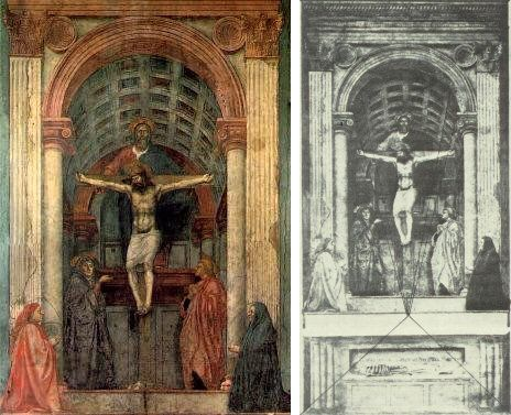 a literary analysis of the holy trinity by masaccio Holy trinity (1428) by tommaso masaccio: pictures, analysis, meaning of early renaissance fresco.