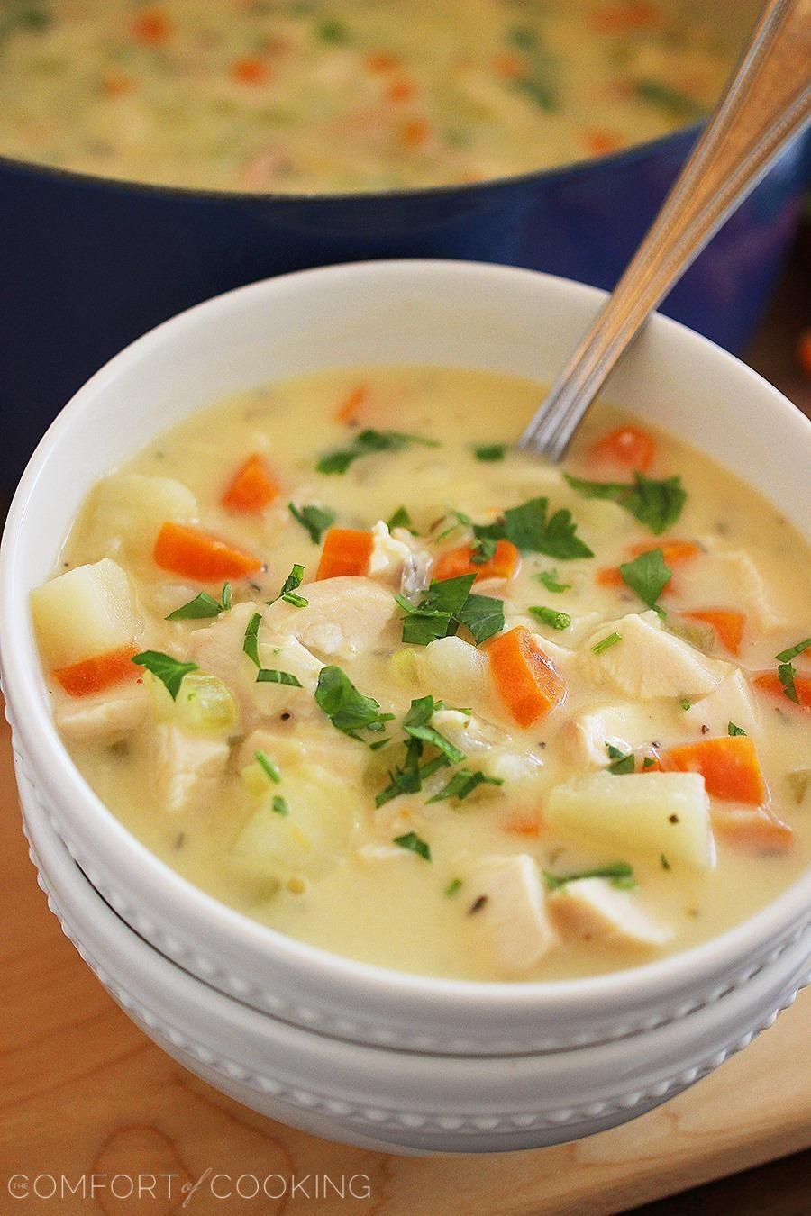 Easy Cheesy Vegetable Soup Recipe Vegetable Soup Recipes Soup Soup Recipes