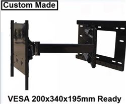 Custom Made 31in Extension Articulating Wall Mount For Lg 55eg9600