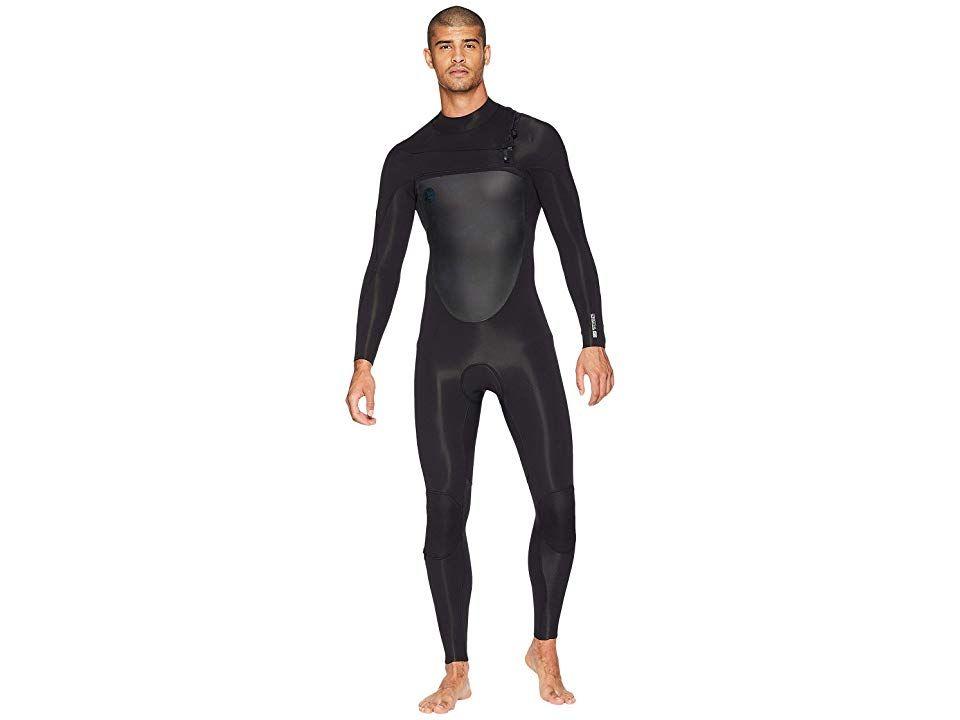 O Neill Original Front Zip 4 3 Men S Wetsuits One Piece Black Black Free Clothes Clothes Fashion