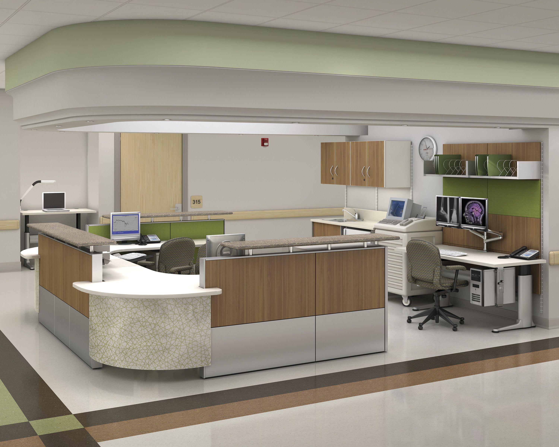 Ethospace Nurses Station, Caregiver Work Environment