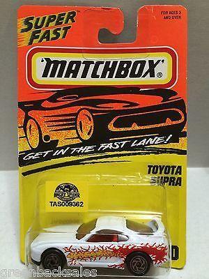 (TAS009362) - Matchbox Cars - Toyota Supra