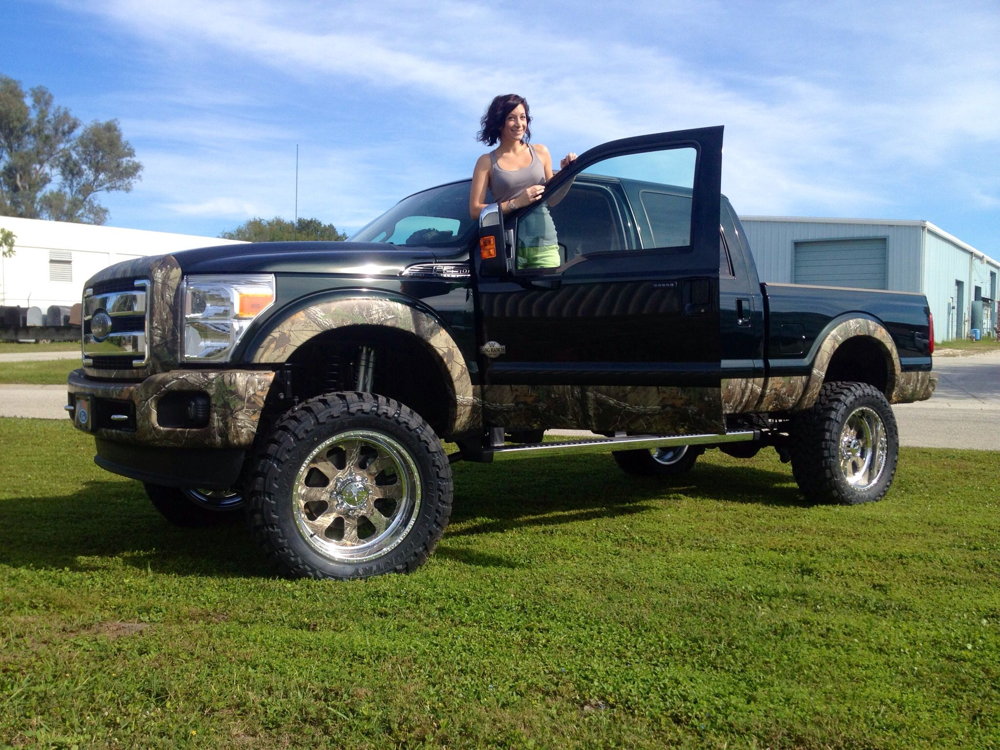 CAMO truck! Ford trucks. Custom CAMO wrapped! American ...