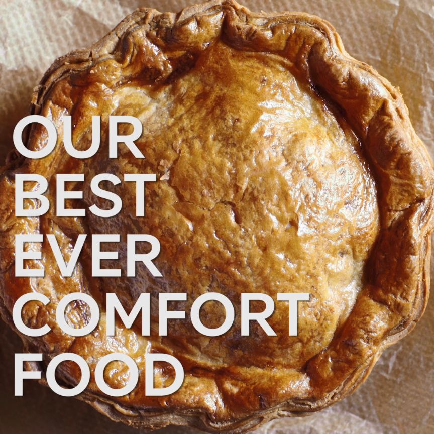 Introducing Our Best Ever Steak Pie. Handcrafted in ...