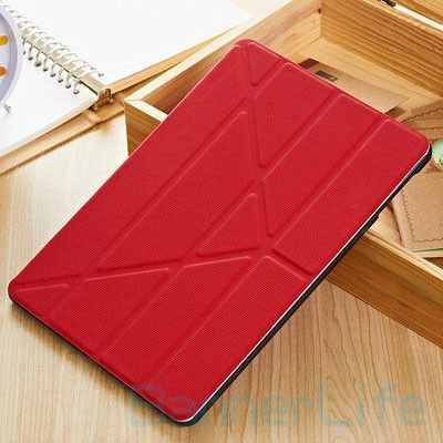 4Shape Magnetic Stand PU Smart Case for iPad 5 iPad Air Leather Cover for iPad5 with Screen Protective Film Stylus Pen as Gift