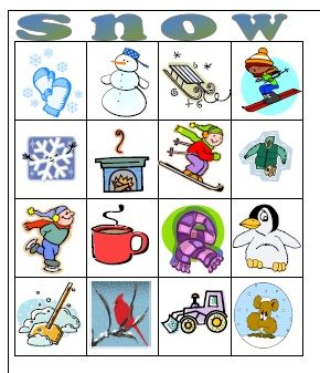 photograph about Winter Bingo Cards Free Printable titled Clroom Wintertime Bash Pleasurable Training - Winter season Xmas