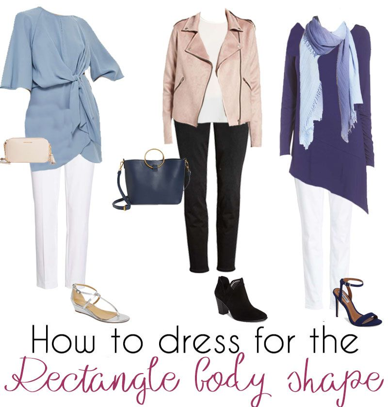 How To Dress The Rectangle Body Shape Flattering Clothes