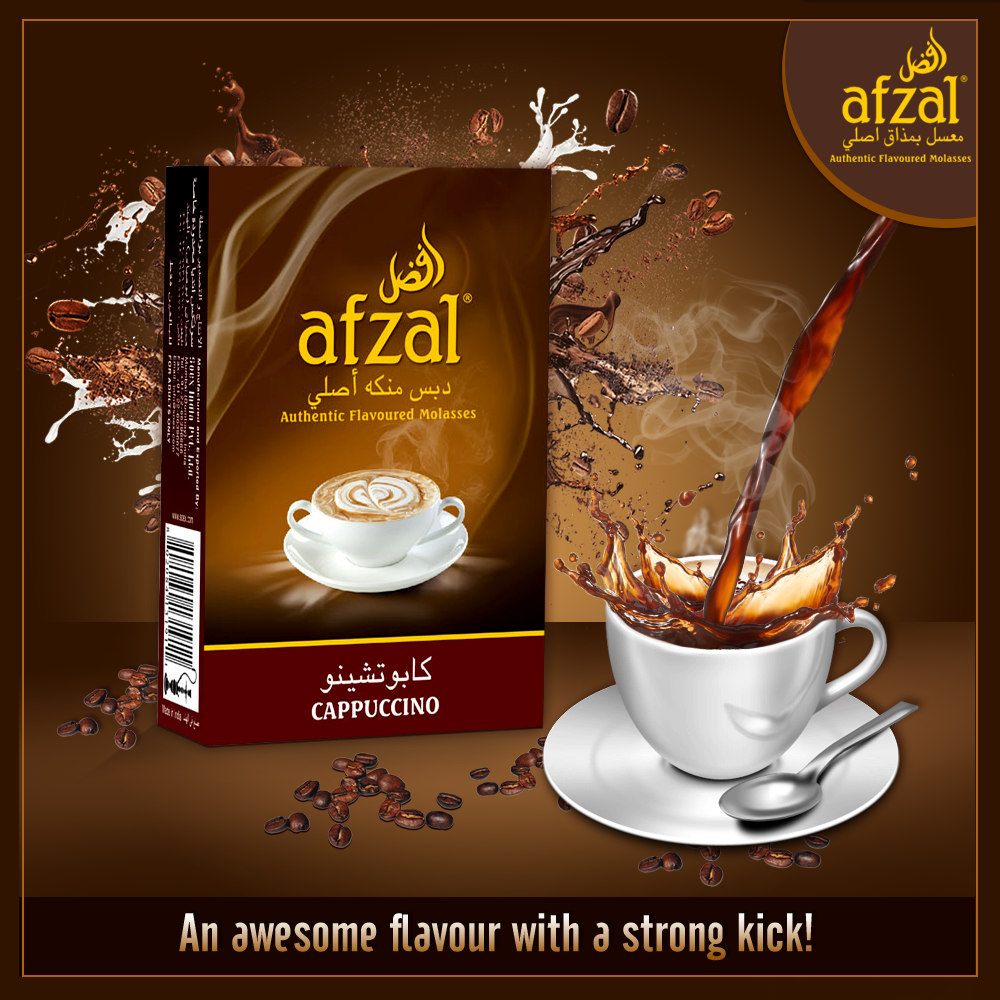 perk up your hookah moments with the magical aroma of pure coffee
