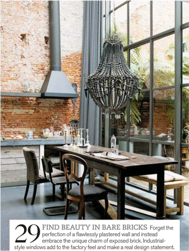 Industrial Glam Dining With Images Industrial Wall Decor