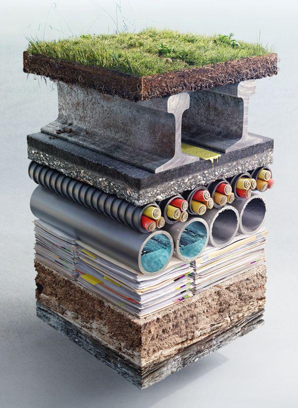 Electric Art / CSX by Sharpe + Associates Inc., via Behance