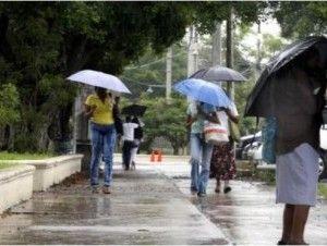 Meteorología pronostica lluvias para las próximas 48 horas