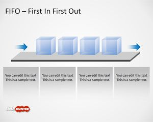 Free fifo powerpoint template is a presentation template with a fifo free fifo powerpoint template is a presentation template with a fifo queue diagram created in microsoft powerpoint ccuart Images
