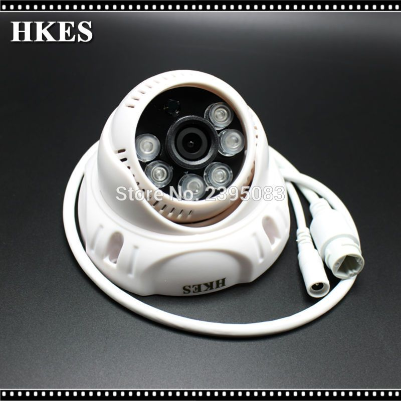 HD IP 720P 1MP Camera IP POE Dome Camera 2MP Indoor IP Cam 1080P Free Shipping