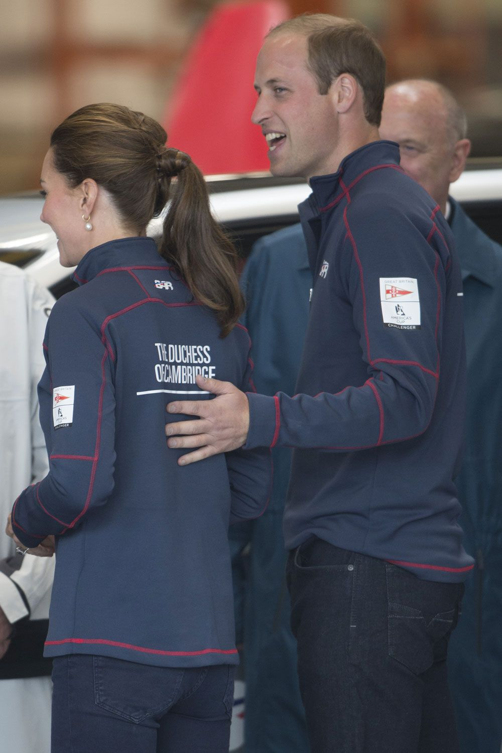 Matching fleeces?! Only Kate Middleton and Prince William could pull this off...