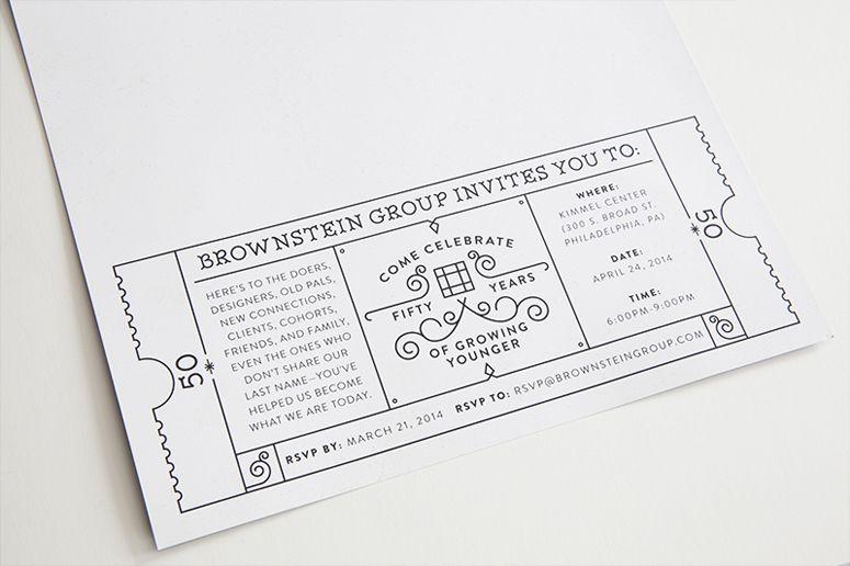 Fpo brownstein group 50th anniversary invitation 50th anniversary fpo brownstein group 50th anniversary invitation stopboris Gallery