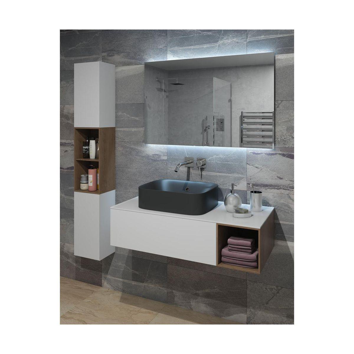 Umywalka Nablatowa Capsule Sensea Umywalki W Atrakcyjnej Cenie W Sklepach Leroy Merlin Lighted Bathroom Mirror Bathroom Mirror Bathroom Lighting