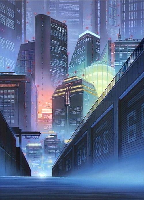 #cyberpunk #anime #city