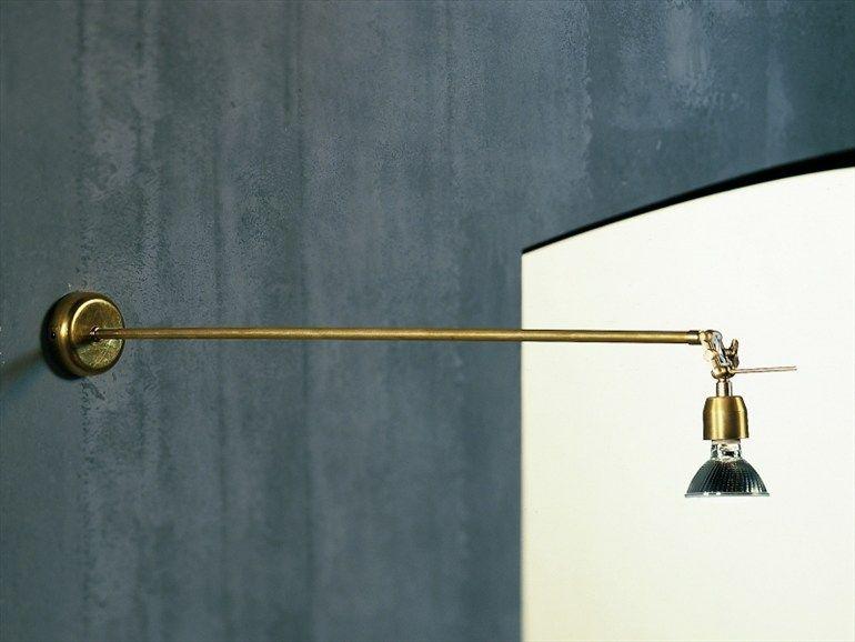 Faretti da parete con braccio » faretti con braccio lampadari e