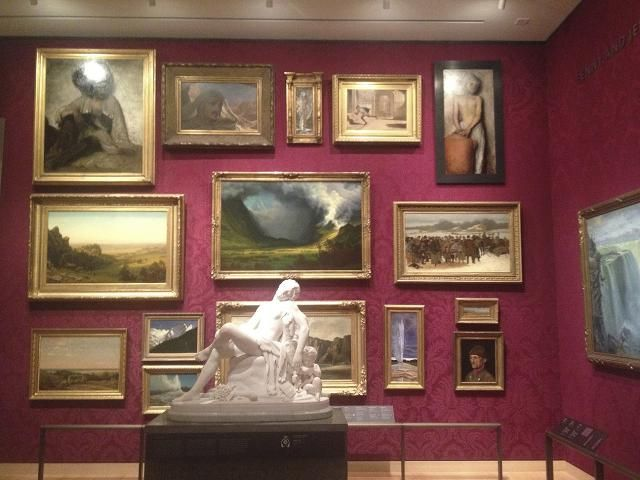 12 Tips For Hanging An Art Show Paintings Hung Salon Style At The Boston Museum Of Fine Arts