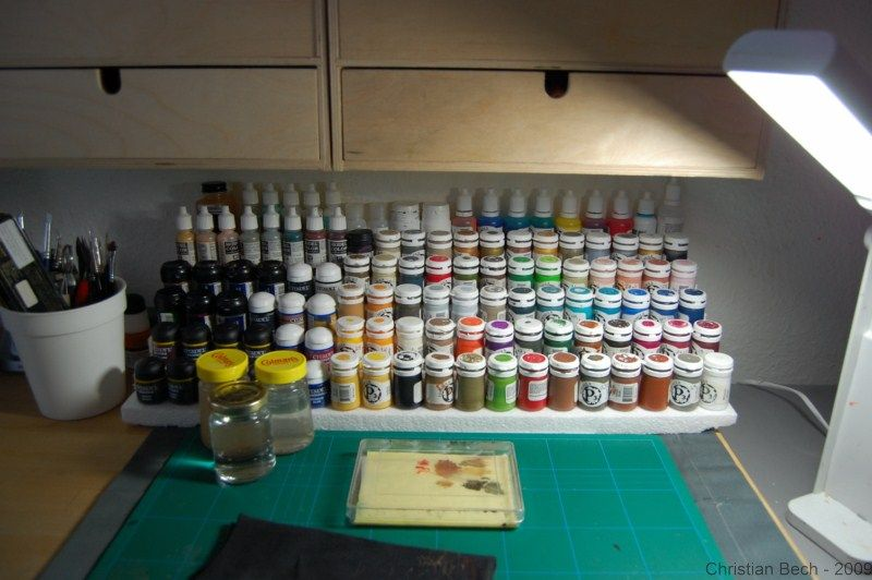 Your Painting Table Station Hobby Desk Hobby Room Hobby Storage