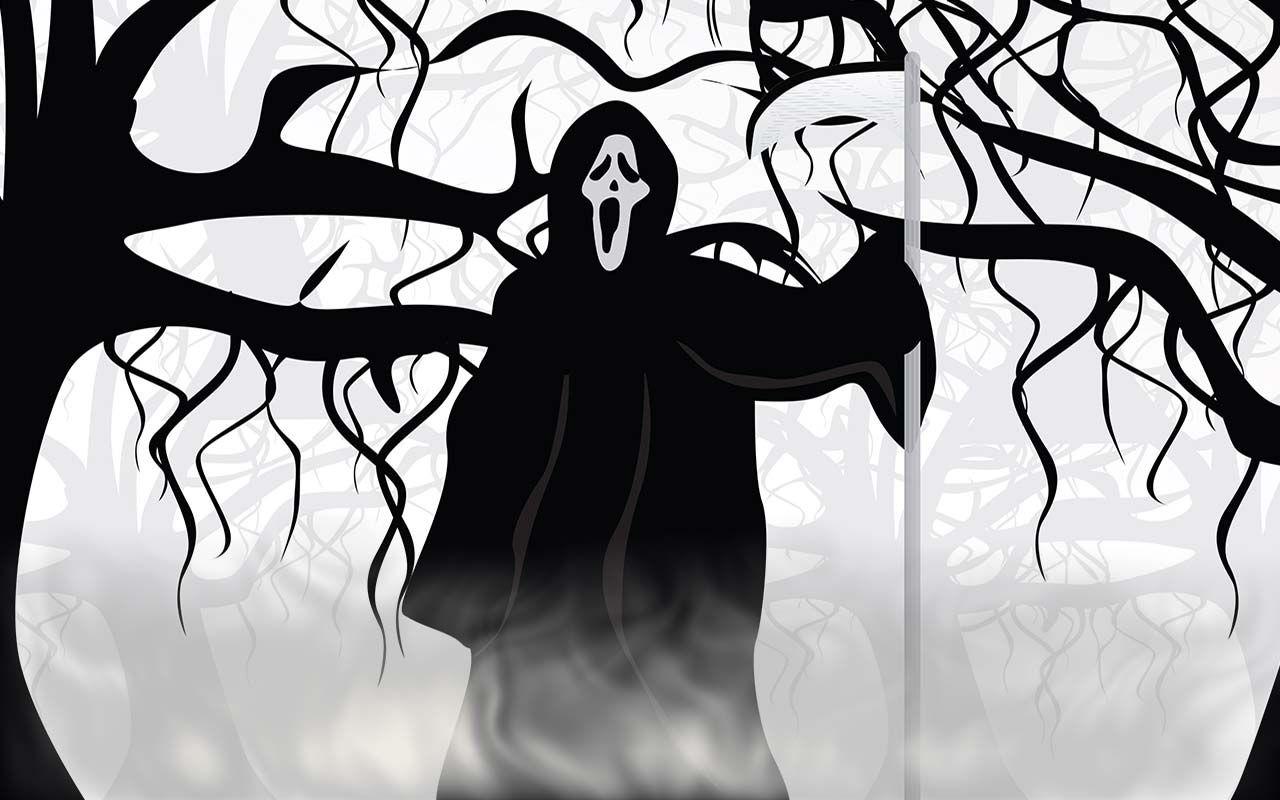 Free Halloween Backgrounds - Wallpapers #halloweenbackgroundswallpapers