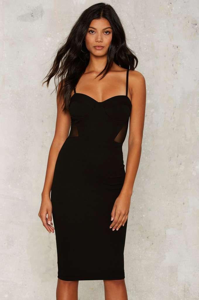 Rare London Sweet Dreams Midi Dress - Clothes  6485c61ca3aa