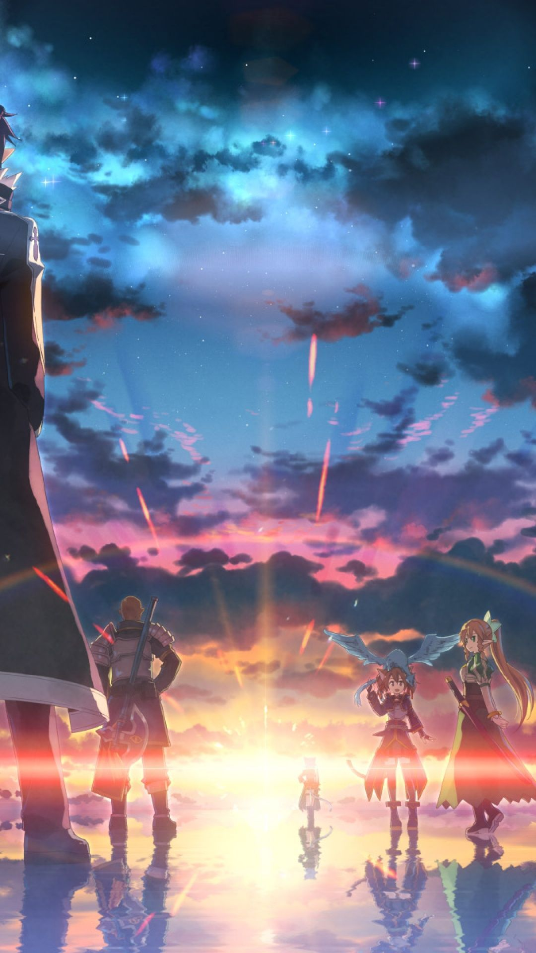 Sao Background Picture In 2020 Anime Wallpaper Phone Hd Anime Wallpapers Sword Art Online Season