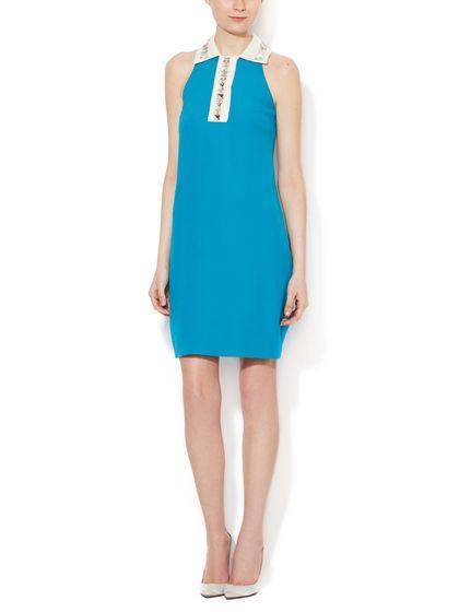 Embellished Shift Dress by Prada at Gilt