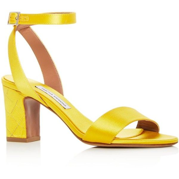 144b3d8c797 Tabitha Simmons Women s Leticia Satin Ankle Strap Block Heel Sandals ( 685)  ❤ liked on