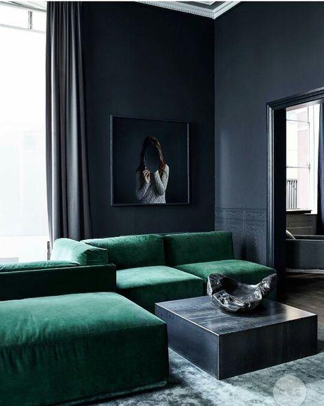 Noir Et Vert | Vert, Inspiration Et Noir