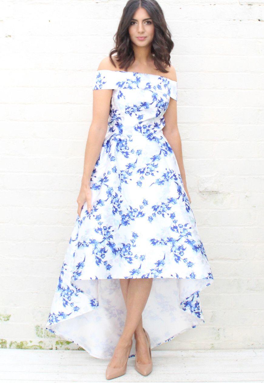 Get 44+ Chi Chi London Kleid Blau Blumen