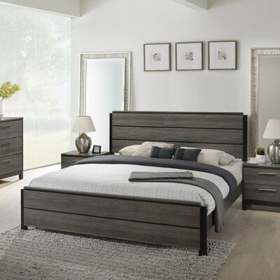 Gracie Oaks Mandy Standard Bed In 2021 Panel Bed Furniture Comfortable Furniture