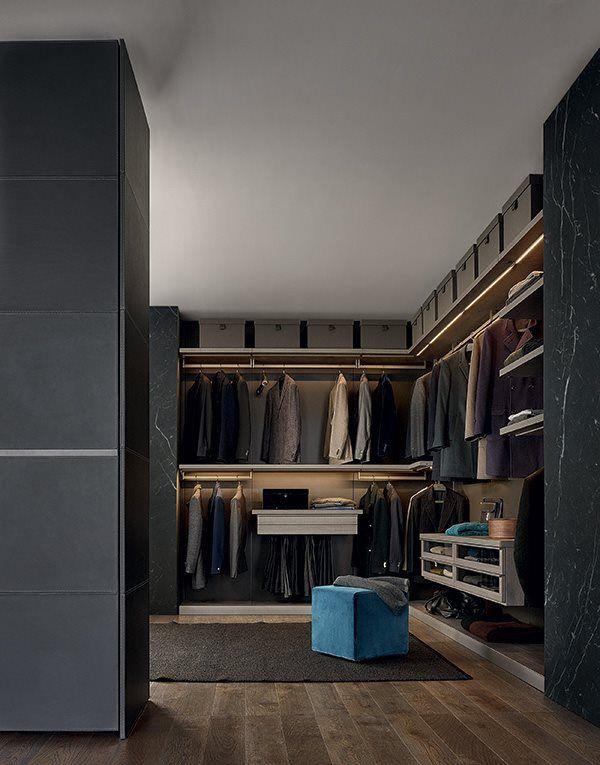 Ubik walk-in closet09 POLIFORM WIC Pinterest Men closet - begehbarer kleiderschrank modular system