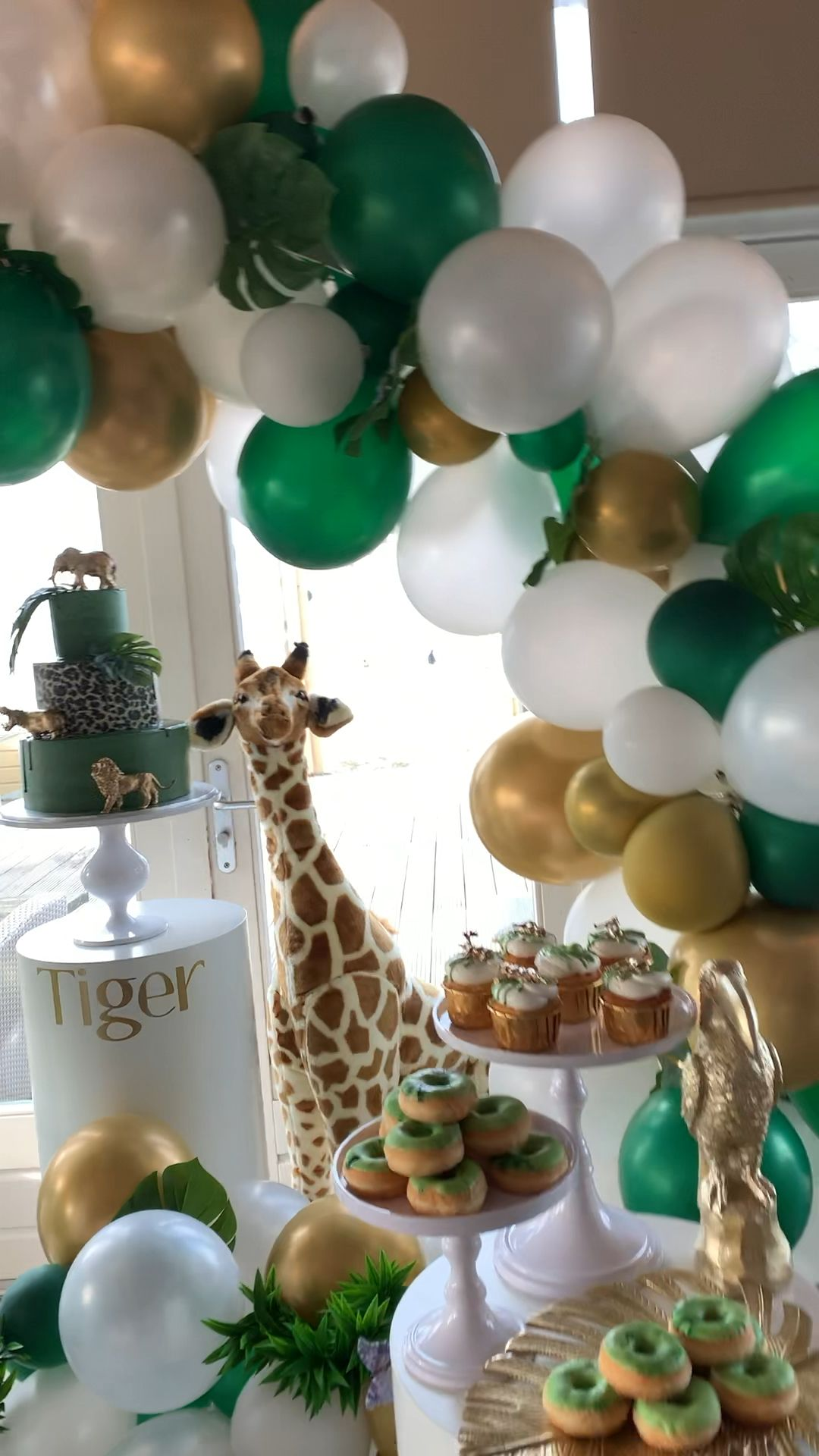 Jungle party thema - Sweet Table - Norali Styling
