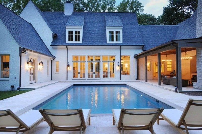 Castle Homes | Pool house plans, Pool houses, Castle house