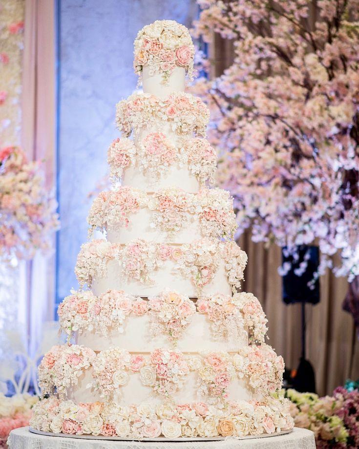 7 Tiers Le Novelle Cake Jakarta & Bali Wedding Cake