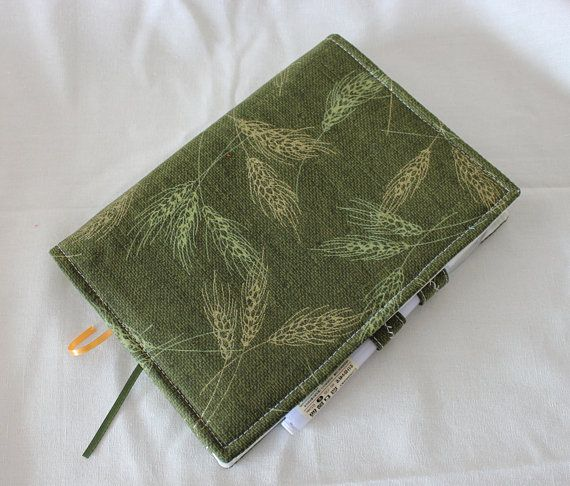 Handmade Green A5 6 Rings Binder Cover Happy Planner Cover