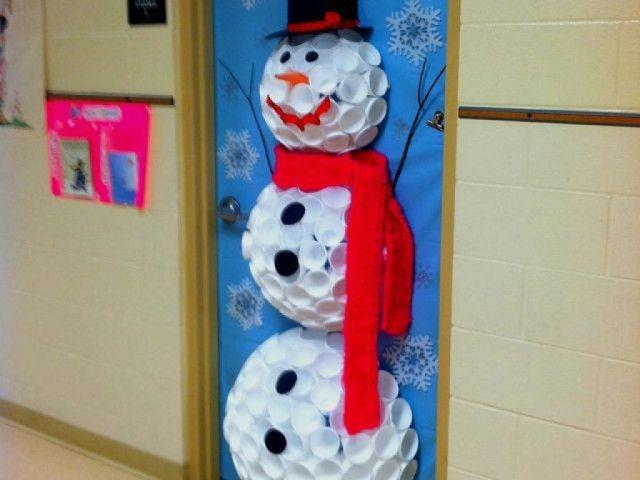 33 idées de décoration de porte d\'entrée de Noël   Noël ...