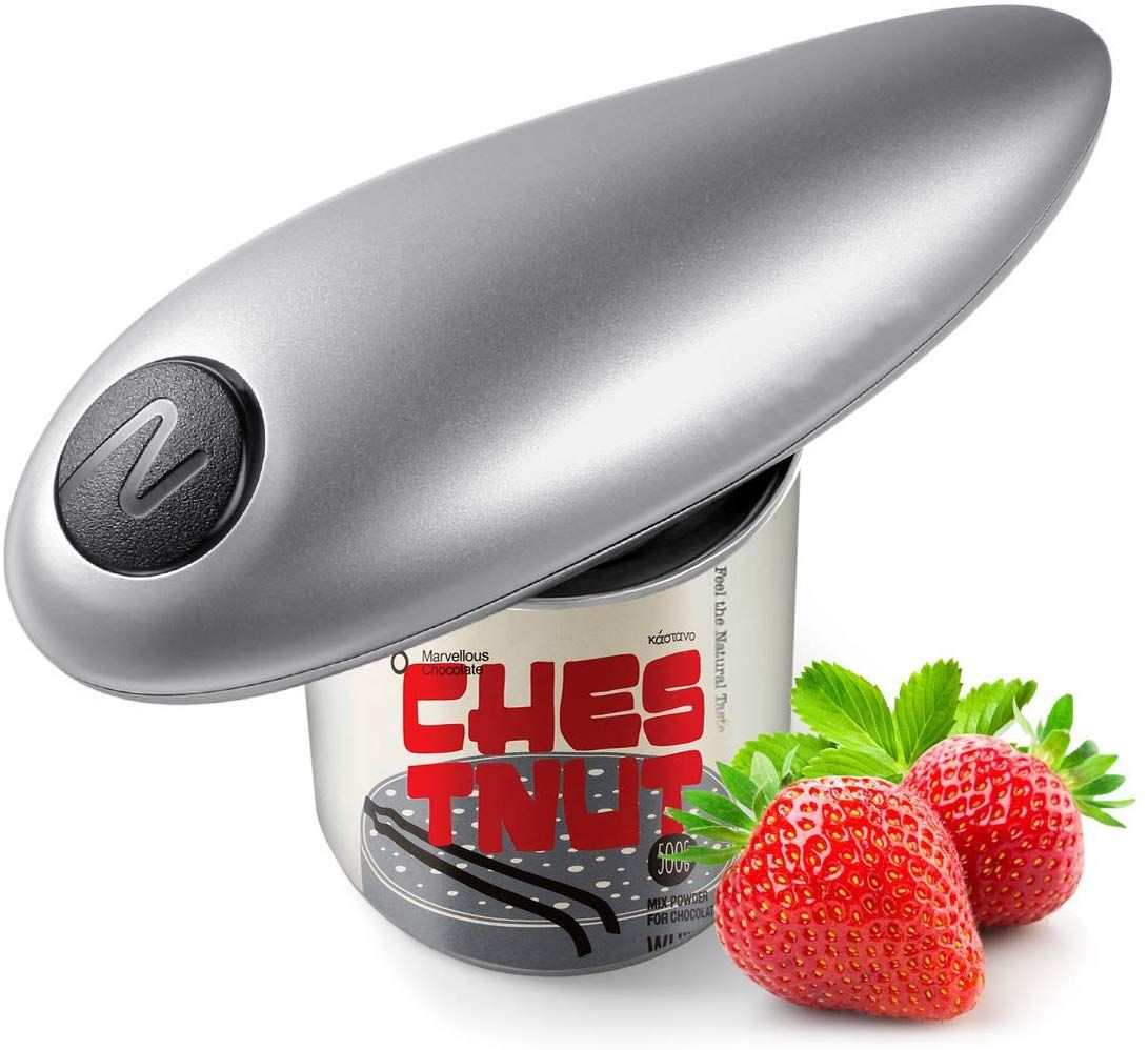 Electric can opener smooth edge automatic can opener for