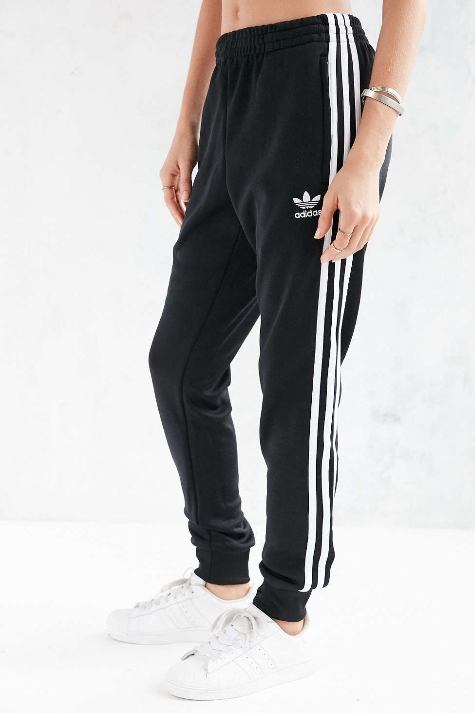 640cd486e903 adidas Originals Unisex Superstar Cuff Track Pant