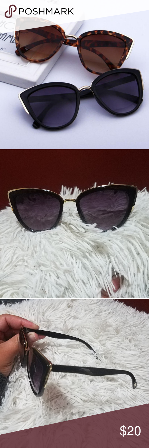 Black Cat Eye Sunglasses Boutique Black cat eye