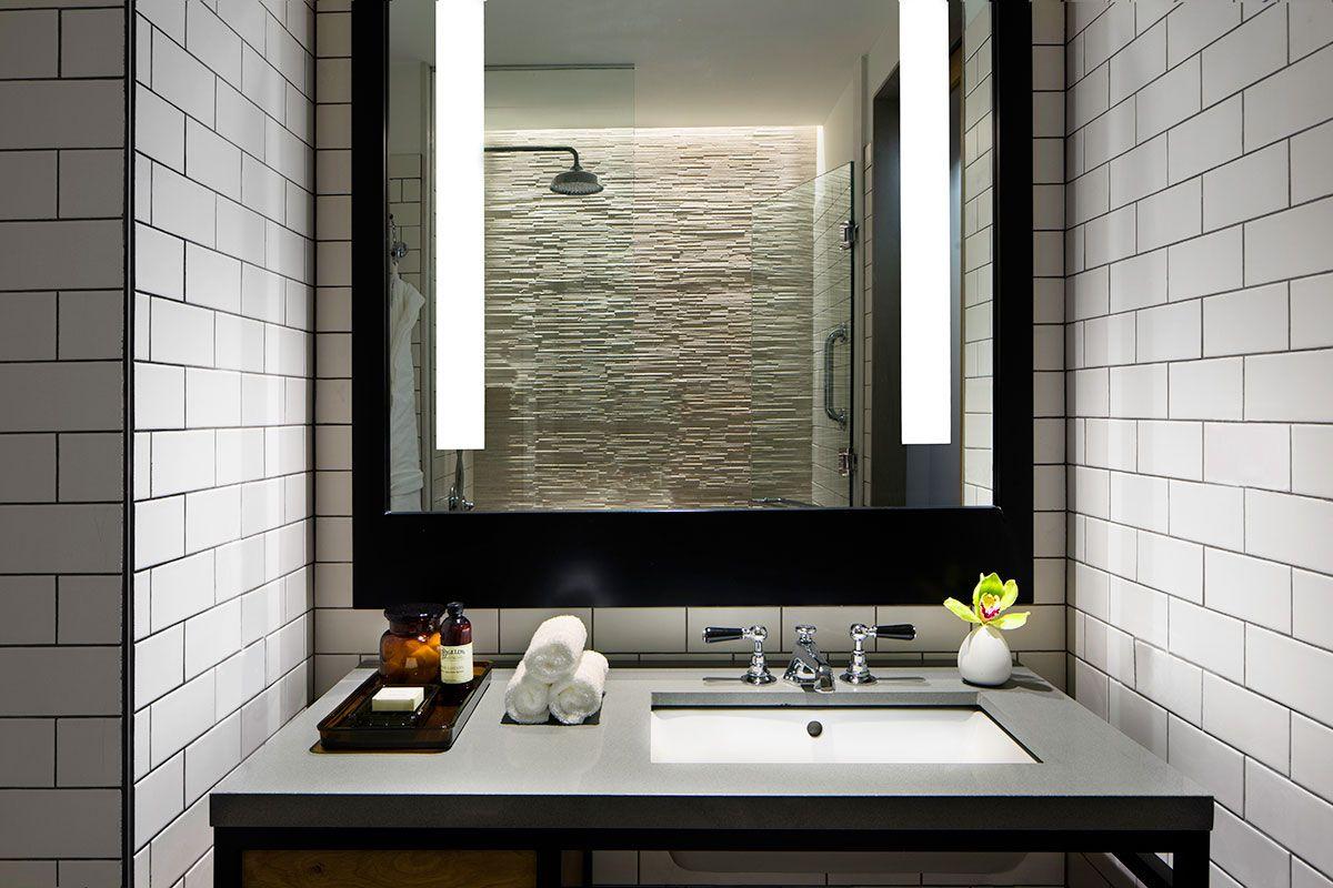 Bathroom Details At 50 Bowery Hotel Nyc Soho Hotel Classic Bathroom Bowery Hotel Nyc