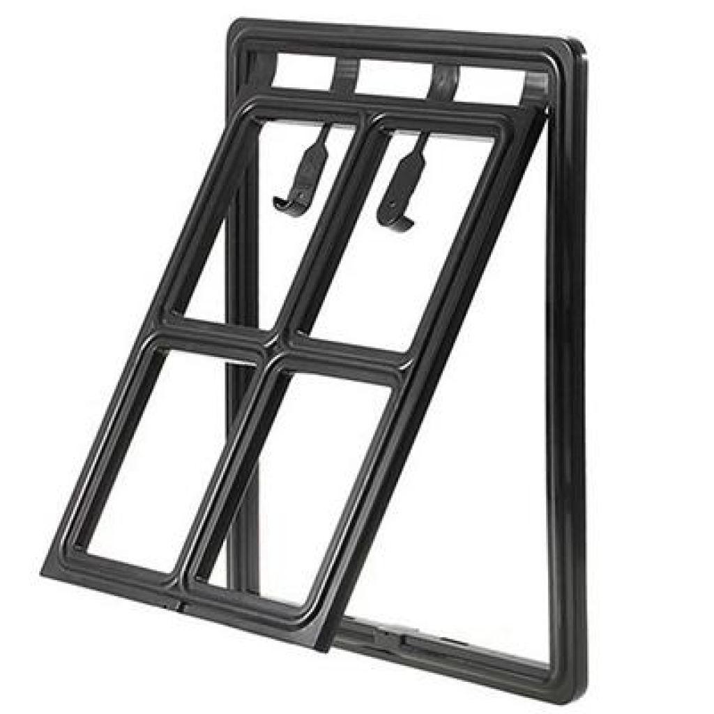 Lockable Plastic Dog Door for Mesh Screen | Pet screen ...