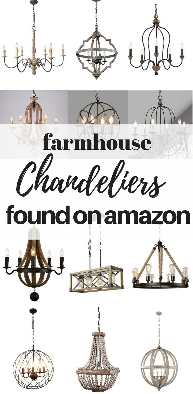 Farmhouse Chandeliers Found On Amazon Farmhouse