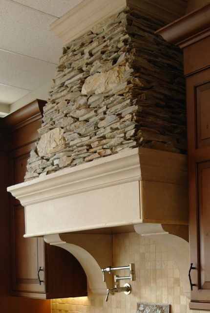 stone vent hood | There are many stove/range hoods to pick ...