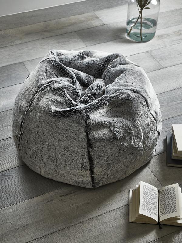 49++ Grey fur bean bag chair trends