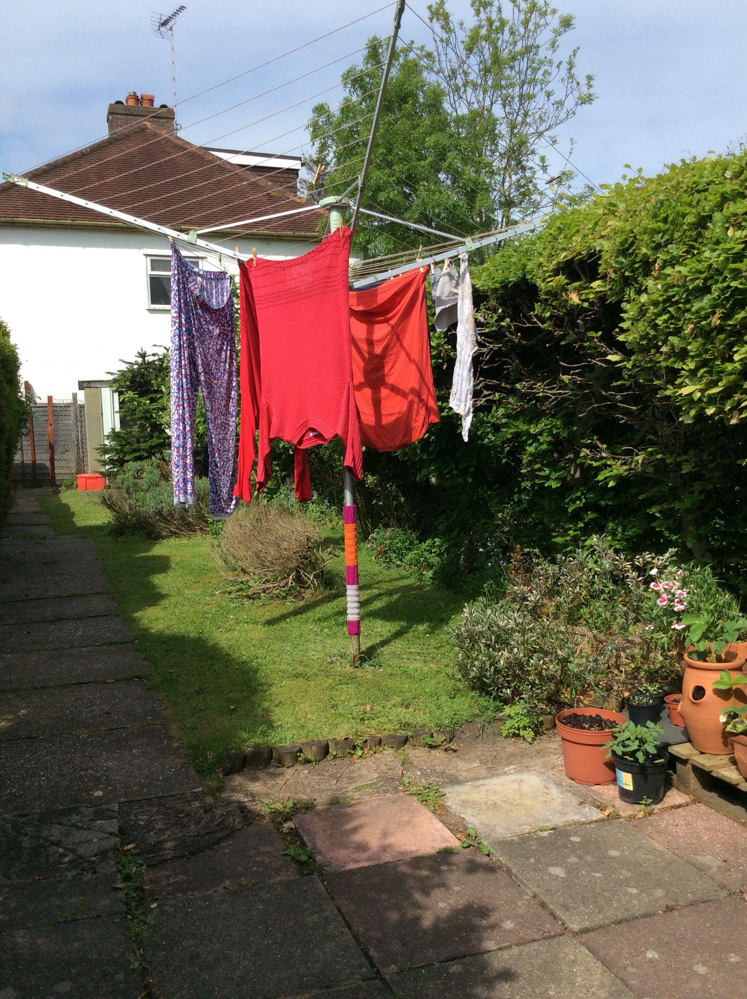 YarnBombing in my garden :)